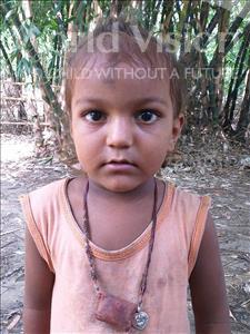Choose a child to sponsor, like this little boy from Sarlahi, Amarnath Kumar age 3