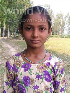 Choose a child to sponsor, like this little girl from Sarlahi, Jabisa age 9