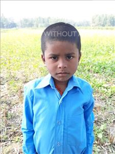 Choose a child to sponsor, like this little boy from Sarlahi, Aashik Kumar age 5