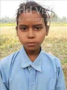 Choose a child to sponsor, like this little girl from Sarlahi, Preeti Kumari age 9