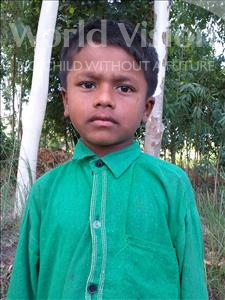 Choose a child to sponsor, like this little boy from Sarlahi, Ashik Kumar age 7