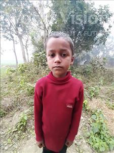 Choose a child to sponsor, like this little boy from Sarlahi, Sahabudin age 7