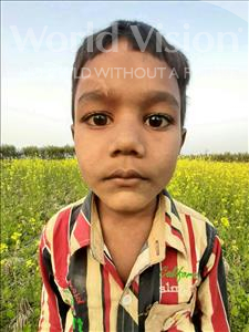 Choose a child to sponsor, like this little boy from Sarlahi, Aehatesam age 4