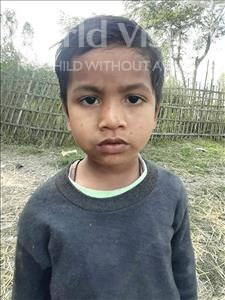 Choose a child to sponsor, like this little boy from Sarlahi, Dilbar age 6