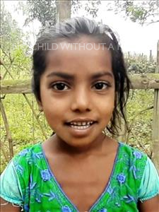 Choose a child to sponsor, like this little girl from Sarlahi, Krishma Kumari age 6