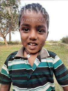 Choose a child to sponsor, like this little boy from Sarlahi, Bikash Kumar age 4