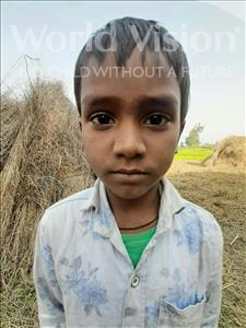 Choose a child to sponsor, like this little boy from Sarlahi, Aasif age 3