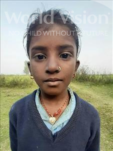 Choose a child to sponsor, like this little girl from Sarlahi, Archana Kumari age 8