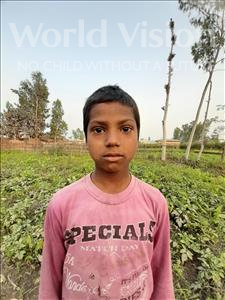 Choose a child to sponsor, like this little boy from Sarlahi, Bibek Kumar age 8