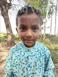 Choose a child to sponsor, like this little boy from Sarlahi, Ashik Kumar age 2