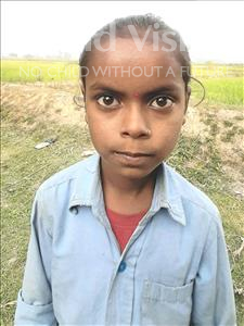 Choose a child to sponsor, like this little girl from Sarlahi, Susmita Kumari age 9