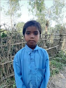Choose a child to sponsor, like this little girl from Sarlahi, Rinka Kumari age 7