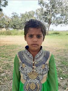 Choose a child to sponsor, like this little girl from Sarlahi, Guthi age 7