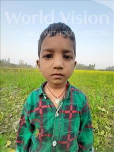 Kosalesh Kumar, aged 4, from Nepal, is hoping for a World Vision sponsor