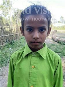 Choose a child to sponsor, like this little girl from Sarlahi, Anjali Kumari age 8