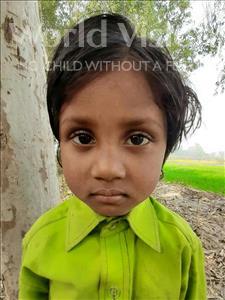 Choose a child to sponsor, like this little girl from Sarlahi, Neha Kumari age 5