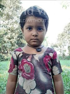 Choose a child to sponsor, like this little girl from Sarlahi, Aasmin age 4