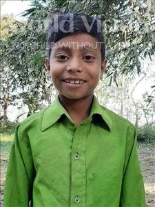 Choose a child to sponsor, like this little boy from Sarlahi, Mahatab age 10