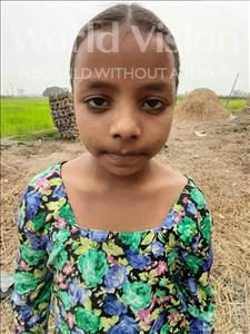 Choose a child to sponsor, like this little girl from Sarlahi, Nasarin age 7