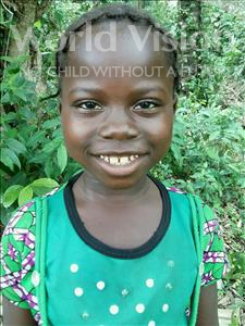 Choose a child to sponsor, like this little girl from Jong, Mariama age 8