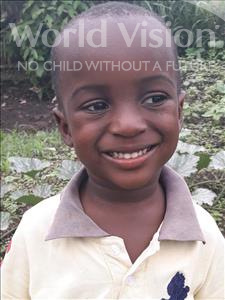Choose a child to sponsor, like this little boy from Jong, Mohamed Sheku age 4