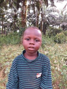 Choose a child to sponsor, like this little boy from Jong, Sallu age 3
