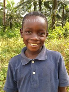 Choose a child to sponsor, like this little boy from Jong, Jusufu age 9