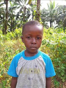 Choose a child to sponsor, like this little boy from Jong, Musa age 5