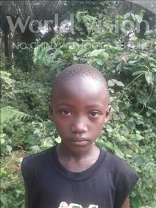 Choose a child to sponsor, like this little boy from Jong, Nabbie age 8