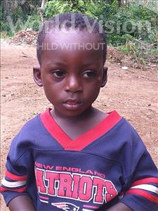 Choose a child to sponsor, like this little boy from Jong, Alahassan age 2