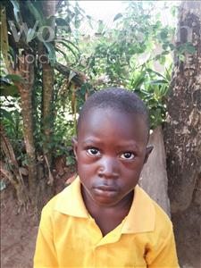 Choose a child to sponsor, like this little boy from Jong, Edison J C age 4