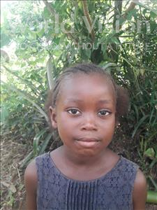 Choose a child to sponsor, like this little girl from Jong, Mariama age 5