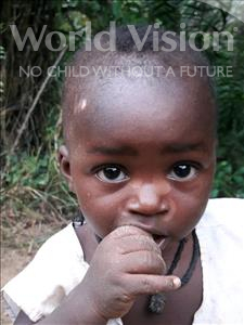 Choose a child to sponsor, like this little boy from Jong, Senesie age 1