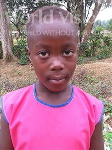 Choose a child to sponsor, like this little girl from Jong, Stevena Amie age 6