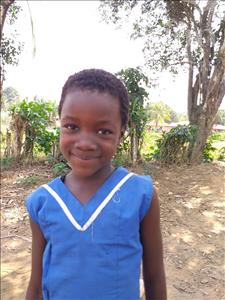 Choose a child to sponsor, like this little girl from Jong, Juliet age 9