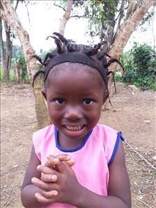 Choose a child to sponsor, like this little girl from Jong, Isata age 4