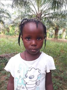 Choose a child to sponsor, like this little girl from Jong, Mariatu age 6