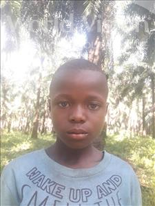 Choose a child to sponsor, like this little boy from Jong, Samuel Smith age 7