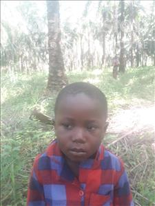 Choose a child to sponsor, like this little boy from Jong, Nabbie age 4