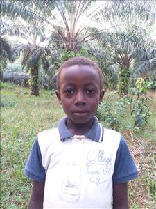 Choose a child to sponsor, like this little boy from Jong, Ramanda age 8