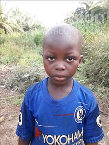 Choose a child to sponsor, like this little boy from Jong, Philip Kangia age 6