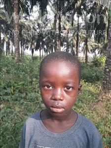 Choose a child to sponsor, like this little boy from Jong, Abubakar age 7