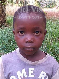 Choose a child to sponsor, like this little boy from Jong, Ibrahim age 5