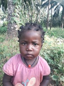 Choose a child to sponsor, like this little girl from Jong, Ramatu age 2