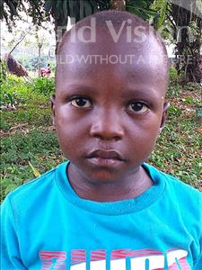 Choose a child to sponsor, like this little boy from Jong, Alex age 4