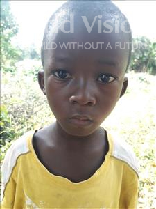 Choose a child to sponsor, like this little boy from Jong, Alycious age 8