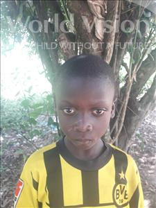 Choose a child to sponsor, like this little boy from Jong, Peter age 7