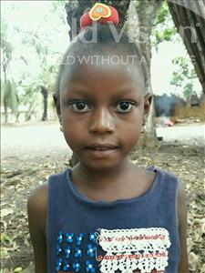 Choose a child to sponsor, like this little girl from Imperi, Rachel age 7