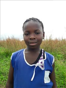 Choose a child to sponsor, like this little girl from Imperi, Aminata age 8