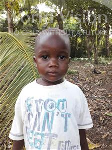 Choose a child to sponsor, like this little boy from Imperi, Christopher age 4